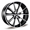 BBS SV001 10,5x22 5/130 ET50 d-71,6 Satin Black Diamond Cut (0564030#)