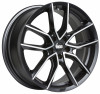 BBS XA0102 8,5x19 5/112 ET46 d-82 Black Diamond Cut (0362633#)