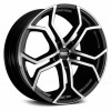 Fondmetal 9XR 9,0x20 5/150 ET35 d-110,2 Black Polished (9XR J9020355150 NA2)