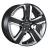 Radius RS012 9,0x19 5/120 ET20 d-72,5 Matt Black (RS0129019AA5NI20NB)